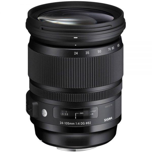 Sigma Art Series 24-105 DG OS HSM Lens - Plaza Cameras
