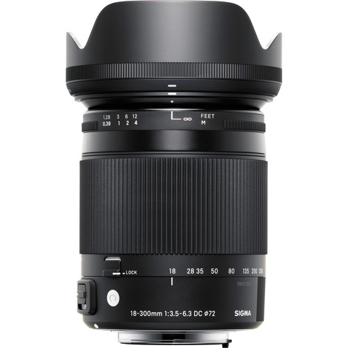 Sigma 18-300mm f3.5-6.3 Macro OS HSM Lens for Nikon F-mount - Plaza Cameras