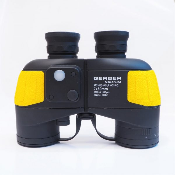 Gerber Nautica 7x50 Waterproof Binoculars with compass - Plaza Cameras
