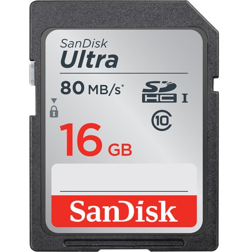 Sandisk 16GB Ultra UHS SDXC Card - Plaza Cameras