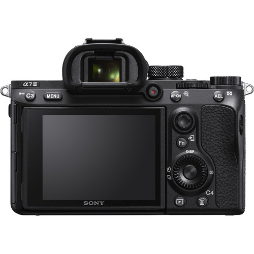 Sony A7iii body back - Plaza Cameras
