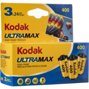 Kodak Ultramax 400 Film 3-Pack (35mm, 24 Exp)