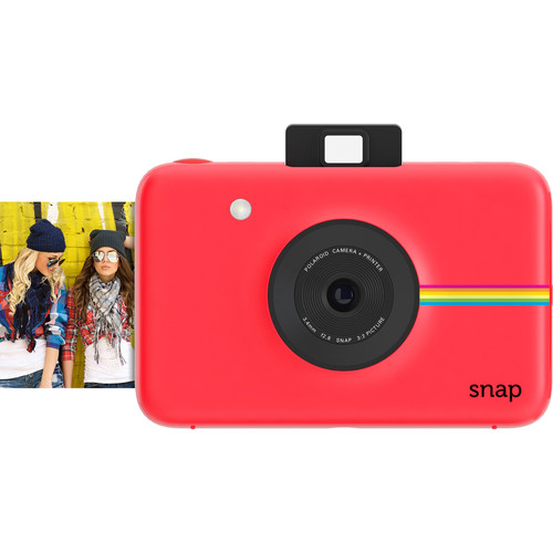 Plaza Cameras - Polaroid Snap Red