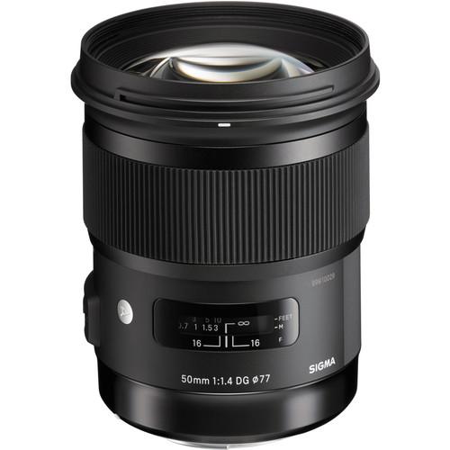 plaza cameras sigma 50mm f1.4 art lens