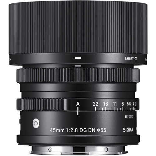 Sigma 45mm F2.8 - Plaza Cameras a