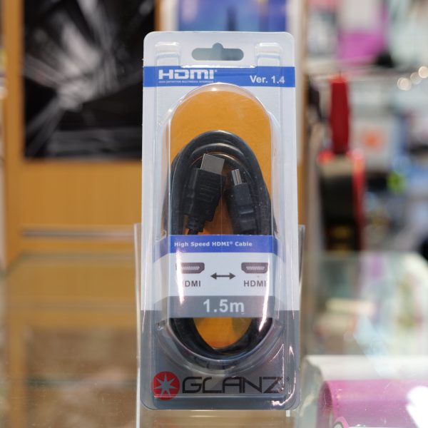 Glanz HDMI to Micro HDMI Cable Extended Length (1.5m) - Plaza Cameras