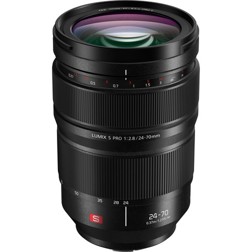Plaza Cameras - Lumix 24-70 f2.8 S Pro