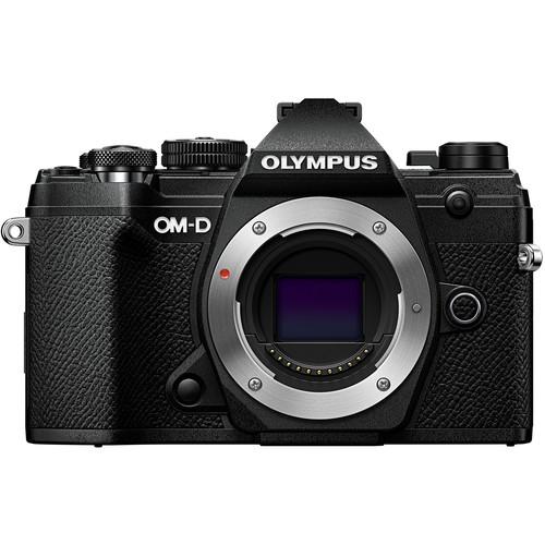 Olympus OMD E-M5 Mk III Black Body - Plaza Cameras