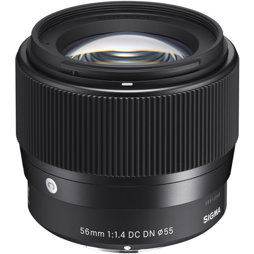 Sigma 56mm f1.4 DC DN for Sony E-mount - Plaza Cameras