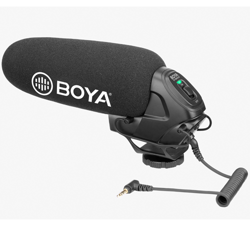 Boya BY-VM600 Shotgun Microphone - Plaza Cameras