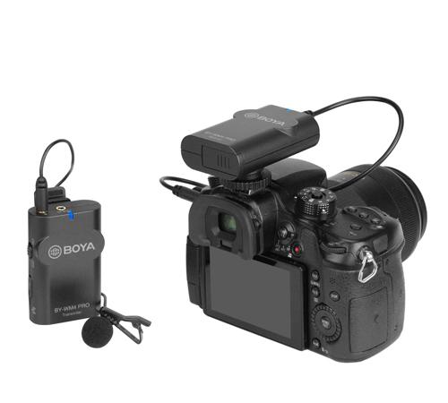 Boya BY-WM4 Pro Wireless Microphone - Plaza Cameras
