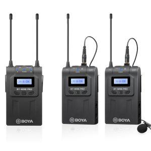 Boya BY-WM8 Pro-K2 Dual Channel Wireless Mic System - Plaza Cameras 1