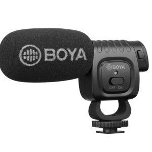 Boya Compact Shotgun Mic - BY-BM3011 - Plaza Cameras