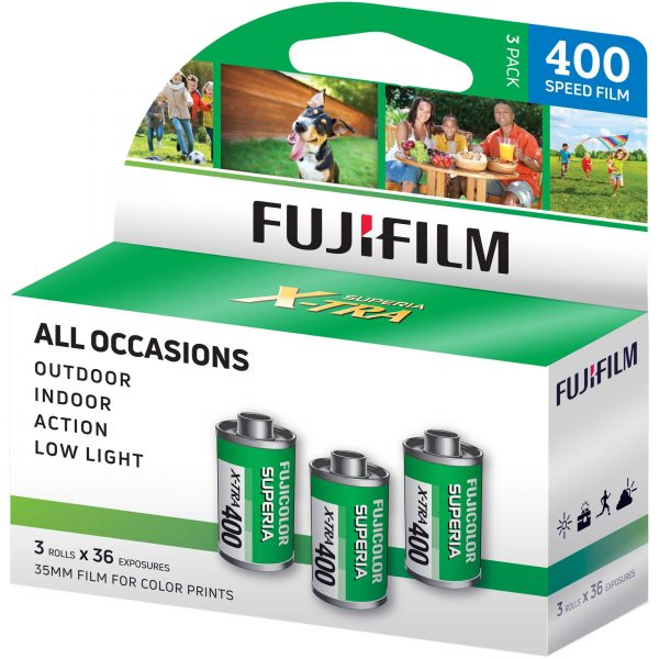 Fuji 400 iso 36 exposure 3 pack - Plaza Cameras