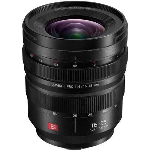 Panasonic Lumix S PRO 16-35mm f/4 Lens