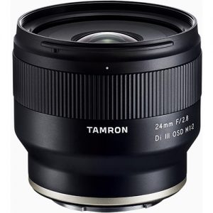 Tamron 24mm F/2.8 Di III OSD M1:2 Lens for Sony E-Mount