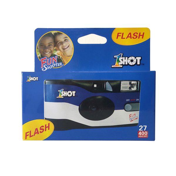 1 Shot Disposable Camera with Flash - Plaza Cameras
