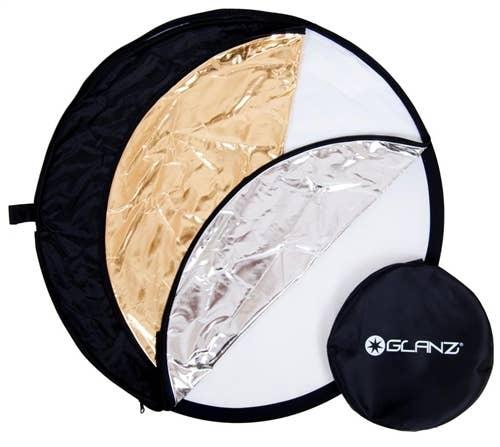 Glanz 5 in 1 Reflector (80cm) - Plaza Cameras