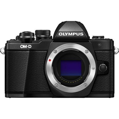 plaza cameras olympus em10 mark ii body black
