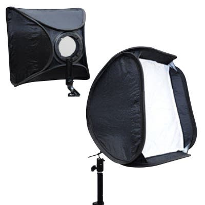 Glanz Flash Gun Softbox 40x40 - Plaza Cameras