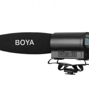 Plaza Cameras, Boya DMR7 Microphone with integrated recorder