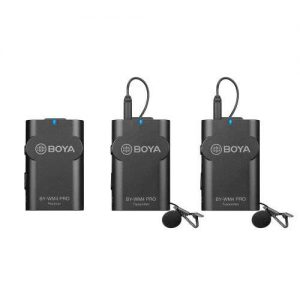 Plaza Cameras - Boya WM4 WIreless Kit