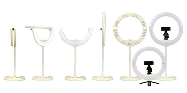 Phottix Nuada Ring 10 LED Light Go Kit - Plaza Cameras