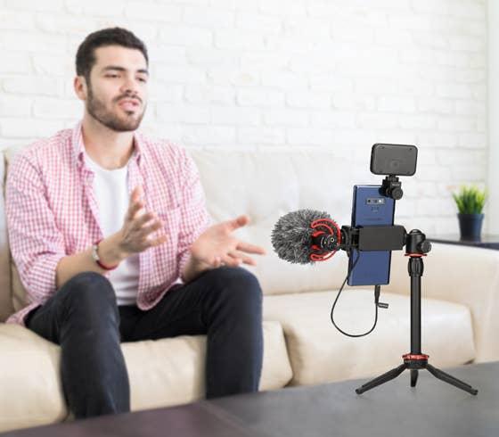 BOYA BY-VG350 Vlogging Kit - Plaza Cameras