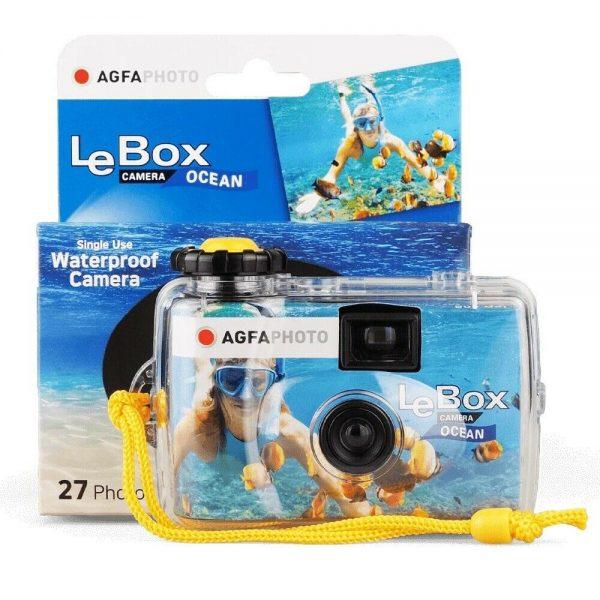AGFA Photo Le Box Waterproof Disposable Camera - Plaza Cameras