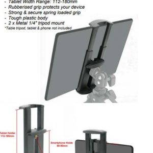 Glanz 2 in 1 Mobile Phne and Tablet Holder - plaza cameras