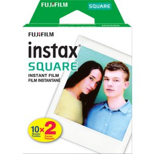 FujiFilm Instax Square 2 pack Film (20 sheets) - Plaza Cameras