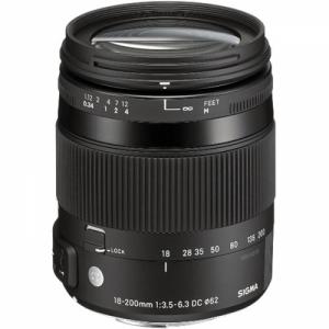 Sigma 18-200mm F3.5-6.3