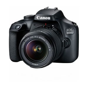 Canon EOS 3000D with 18-55mm Lens