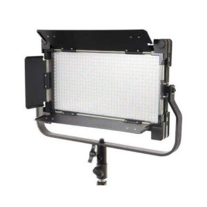 Glanz LED650AS Studio Video Led Light with LST806 Stand - Plaza Cameras