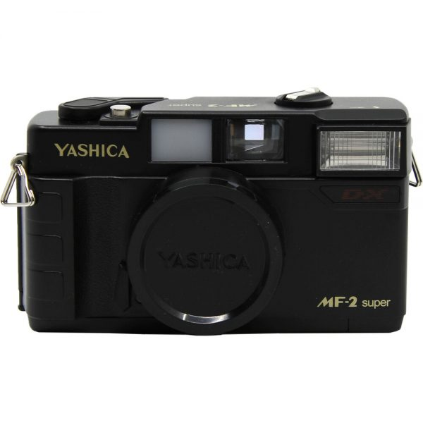 Yashica MF-2 Super DX 35mm Camera - Plaza Cameras